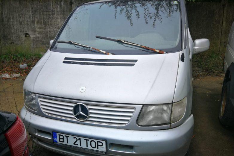 Autoutilitara Mercedes Benz – BT-21-TOP